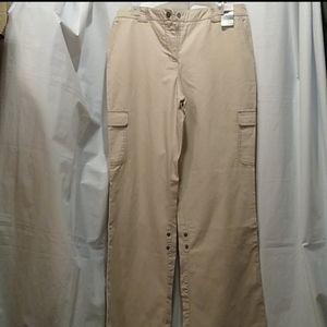 🆕 NY& Convertible Utility Cargo Pants Khaki